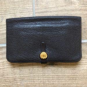 Vintage Hermès Dogon Duo Combined Wallet